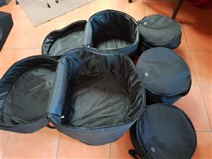 TKL 5piece Drum Bags....Excellent Condition