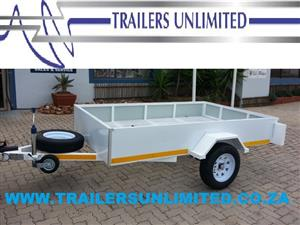 TRAILERS UNLIMITED 2400 X 1400 X 300 FLATBED TRAILERS