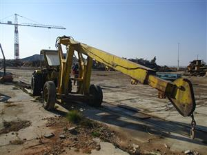 Ford AP313A Tractor Crane - ON AUCTION