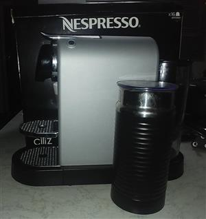 Nespresso coffee machine - Citiz & Milk