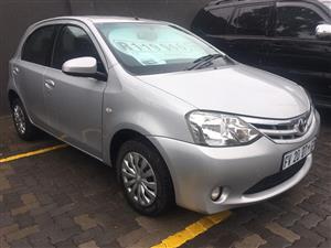 2015 Toyota Etios hatch ETIOS 1.5 Xs/SPRINT 5Dr