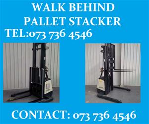 PALLET STACKER FOR SALE