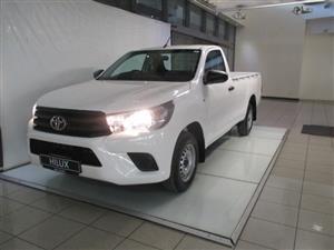 2019 Toyota Hilux single cab HILUX 2.0 VVTi A/C P/U S/C