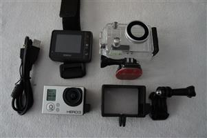 GoPro HERO3 Silver Edition with Sena BTooth BacPac and WiFi Remote