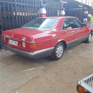 1989 Mercedes benz 560sec