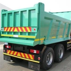 Tipper Bin manufacturing with hydraulic system installation