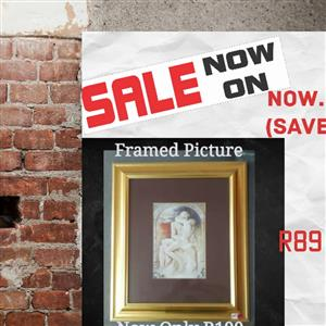 Framed picture for sale