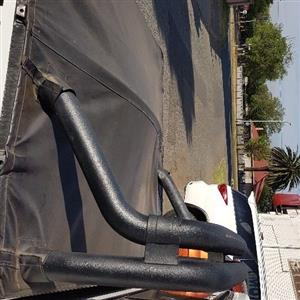 Isuzu double cab rollbar and toneur cover 96-04