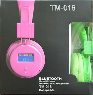 Bluetooth Micro SD Player Headphone