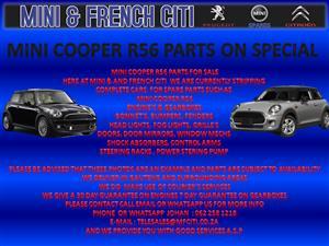 MINI COOPER R56 PARTS ON SALE !! NOW !!