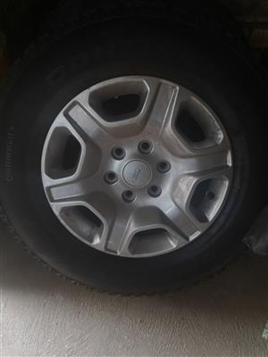 "17"" Ford Ranger mags and tyres for sale"