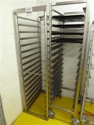 Baking, Oven Tray Racks, Stainless Steel Stands & Machinery on sale in On-site Auction of Catering Equipment