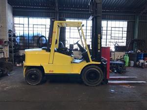 Hyster Forklift 5ton, diesel