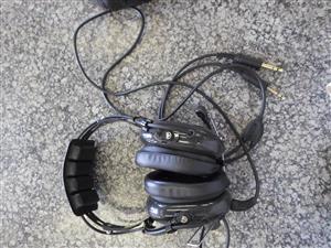 Avcomm Headphones.