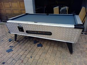 Terrific Coin Operated Pool Table For Sale Junk Mail Home Interior And Landscaping Ologienasavecom