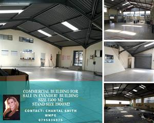 COMMERCIAL BUILDING FOR SALE IN EVANDER