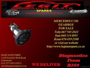 MERCEDES C180 GEARBOX FOR SALE