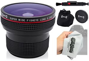 Opteka .20X HD Super AF Wide Angle Fisheye Lens for sale.