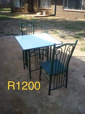 2 Seater outdoor dining set