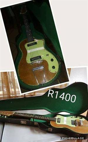 Old box guitar for sale