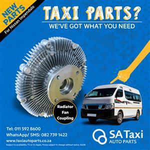 NEW Radiator Fan Coupling suitable for Nissan NV350 Impendulo - SA Taxi Auto Parts quality spares