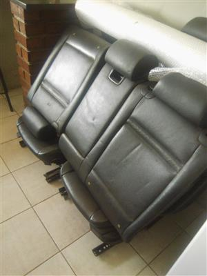 Logic Spares is selling a set of seats for Bmw E70 X5 3.0d