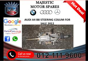 Audi A4 B8 steering column for sale