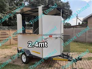 2.4mt mobile kitchen food trailer
