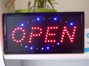 LED Open Light Sign