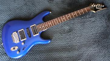 Ibanez Ergodyne EXR170 S-Series Electric Guitar - Metallic Blue