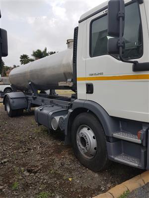 2009 MAN 15.240 Water Tanker, 8000litres