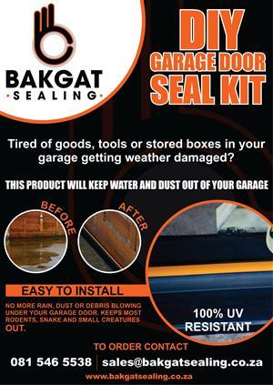 DIY Garage Door Floor Seal Kit