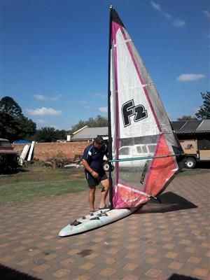 Fun Stalom boat sail for sale