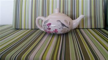White bird teapot for sale