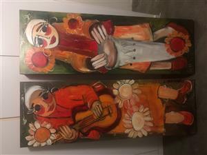 Paintings oil x2