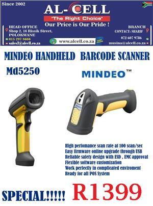 MINDEO MD5250 Hand Held Laser Scanner
