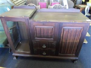 Wooden Ball and Claw Sideboard