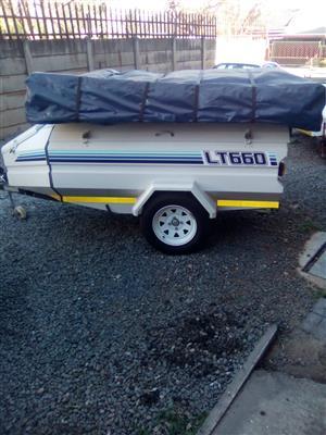 Jurgens LT660 camping trailer