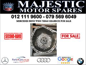 Mercedes benz 722640 gearbox 2005 for sale