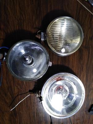 Old car lights