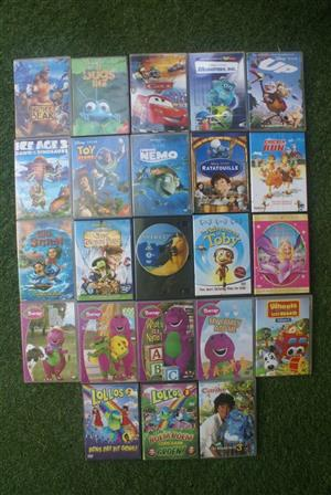 DVD's x 23 - Kiddies Collection