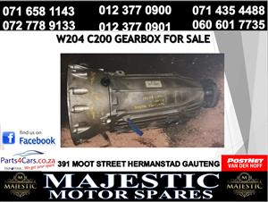 Mercedes benz c200 auto gearbox for sale