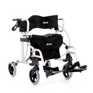 2-in-1 Diamond Deluxe Rollator by Drive. ON SALE, FREE DELIVERY. While Stocks Last.