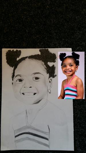 portrait drawing ARTIST