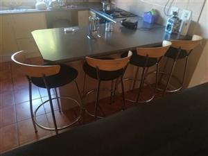 4x kitchen chairs