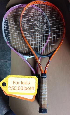 Kiddies rackets for sale