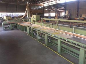 Beamsaw, Angular Beam Saw, Double Cutting Machine, MAYER, 4.800x1.700 mm