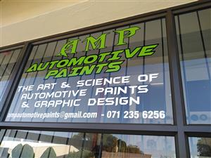 AMP AUTOMOTIVE PAINTS AN HYDRO DIPPING