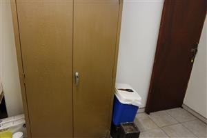 STEEL CUPBOARD FOR SALE multiple uses good condition