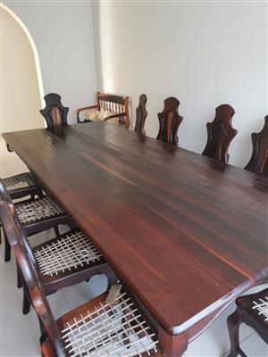 Dining Room Table & Dresser
